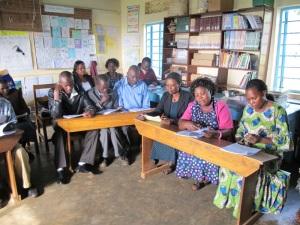 Kasiisi and Kyanyawara Reading Comprehension Workshop