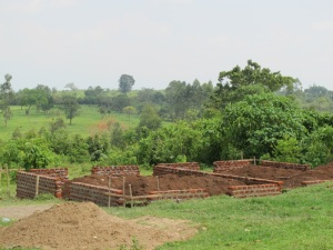 Foundation for Chicken House