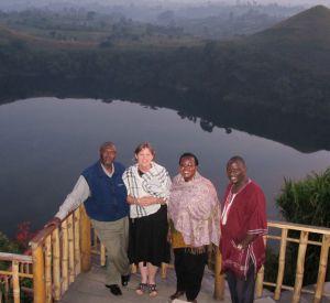 Friends at Kyaninga Lodge
