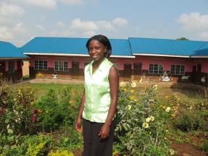 Former Kasiisi Scholar and Current Kasiisi PreSchool Teacher Maureen