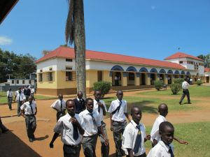 Dominic is First in His Class at St. Mary's College Kisubi or SMACK, Arguably the Best Secondary School in Uganda